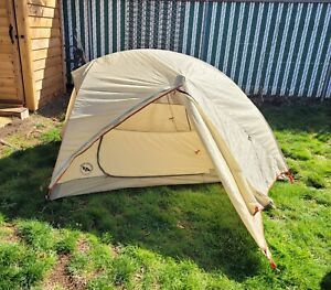 BIG AGNES JACK RABBIT SL2 3 SEASON 2 PERSON TENT w/RAINFLY & FOOTPRINT