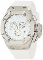 Swiss Legend Men's 10541-02-SA Trimix Diver Chronograph White Dial Watch