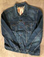 Levis Mens Trucker Denim Jacket Medium Wash NEW Sizes S L 2XL