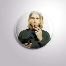 "KURT COBAIN NIRVANA - Pinbacks Badge Button 2 1/4"" 59mm"