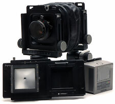 Movable adapter for Phase One Hasselblad v Back to Arca swiss 6X9