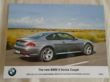 BMW 6 Series Coupe press photo Jun 2007