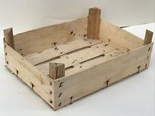 Holzkiste Obstkiste Dekokiste Weinkiste Kisten Holz Natur Deko ca 40x30x15 cm