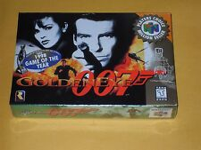 GOLDEN EYE 007 Nintendo 64 NEW SEALED VG