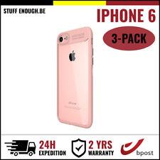 3IN1 AutoFocus Armor Cover Cas Coque Etui Silicone Hoesje Case For iPhone 6 Pink