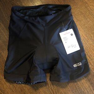 NWT BONTRAGER Women's VELLA Padded Shorts • Large • Black • 520579