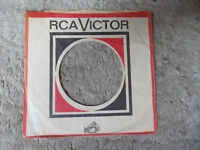 sleeve only  RCA VICTOR  his masters voice dog  45 record company sleeve only 45