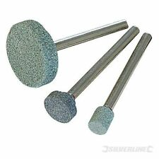Silverline 868811 Rotary Tool Grinding Stone Set 3pce5, 9, 20mm Dia