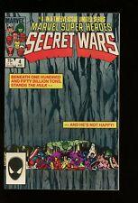MARVEL SUPER HEROES SECRET WARS #4 NEAR MINT 9.4 1984 MARVEL COMICS