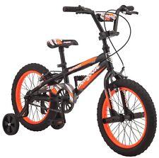 "Mongoose Mutant Kids BMX-Style 16"" Boys Front Rear Brake Single Speed Bike"