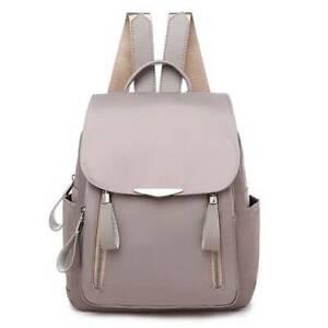 Women School College Backpack Rucksack Outdoor Casual Travel Zip Shoulders Bag