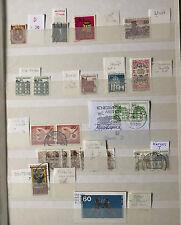 Abarten -  Sammlung Deutsche Bundespost  - siehe Bilder und Beschreibung