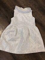 Crazy 8 Gold Sparkle Animal Print Dress Sz 12-18 Mo Girls Dress Tunic Dress Mod
