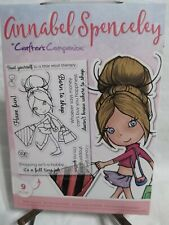 """Crafters Companion """"Born to Shop"""" Annabel Spenceley Stamps 9 pieces"""