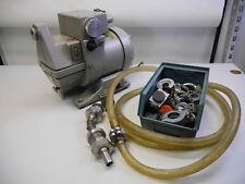 Leybold Heraeus D3 Foerderpumpe Pumpe Labor + viel Zubehoer