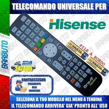 TELECOMANDO UNIVERSALE HISENSE, CLICCA SUL TUO MODELLO E LO RICEVERAI GIA PRONTO
