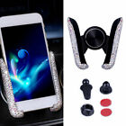 Car Phone Bling Holder Air Vent Mount Universal Stand Cradle For Mobile Phone