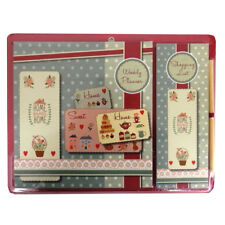 Decorative Magnetic Planner Set, Weekly Planner & Shopping List - 4 Designs