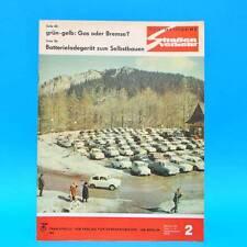 Der Deutsche Straßenverkehr 2/1970 DDR Stema Volkspolizei Berlin MZ Ungarn G