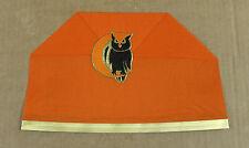 Vintage Halloween Crepe Paper Party Hat With Embossed Die-Cut Owl 1767