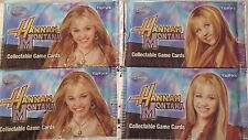 Hannah Montana collectable trading card game x1pk Topps Disney Bulk buy availabl