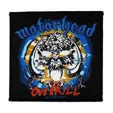 MOTÖRHEAD Patch OVERKILL ♫ Heavy Metal ♪ Rock and Roll ♫