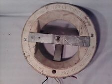 "Ohmite 40 ohm model - U resistor wheel spec. #28723 12"" in diameter ins. to 600V"