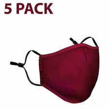 1-5Pcs Reusable Face Mask Air Purifying Cotton Mouth Cover with Valve Pm2.5 Lot