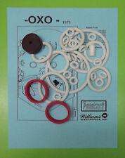 1973 Williams OXO pinball rubber ring kit