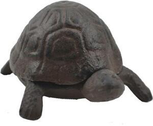 Iron Turtle Key Holder Trinket Hide A Key Box Garden Decor Turtles Key Boxes