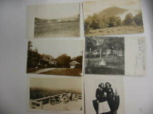 50 Older Real Photo Postcard Lot 50