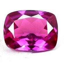 AAA+21.20 Ct Natural Pink Pyrope Garnet AGSL Certified Cushion STUNNING Gemstone