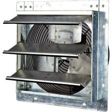 12 In Electric Exhaust Fan W Automatic Shutter Ventilator Vent 800 Cfm Power