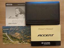 Hyundai Accent Owners Handbook Manual and Wallet 06-10