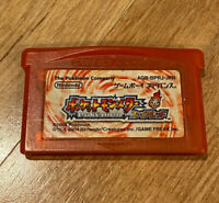 Pokemon FireRed Fire Red AUTHENTIC/JAPAN Version(Saves) GameBoy Advance GBA