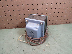 Vintage Safety Isolation Power Transformer Triad N-54M