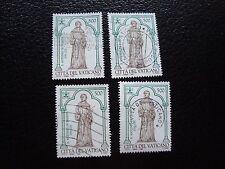 VATICANO - sello yvert y tellier nº 1020 x4 matasellados (A28) stamp