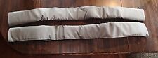 *New* Jeep Rampage Pair of Front Windshield Brace Pads Grey 769111 Fabric Soft