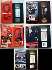VHS: Lady Dragon II 2 China O'brien Outside Law Martial Cynthia Rothrock promo