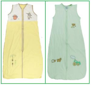 Baby Child Boys Girls Sleeping Sleep Bag 0.5 Tog Lightweight Slumbersac Summer