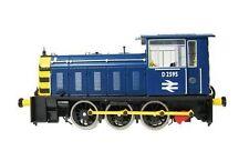 Blue OO Scale Model Trains