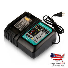 DC18RC 18V Makita Replace Fast Battery Charger For BL1830 BL1850 BL1830 US Ship