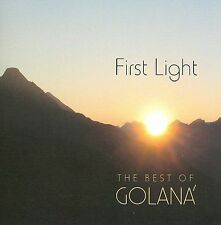FREE US SHIP. on ANY 3+ CDs! ~Used,Very Good CD Golana: First Light: Best of Gol
