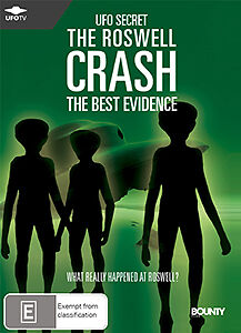 THE ROSWELL CRASH (THE BEST EVIDENCE) - COMPELLING UFO COVER UP DOCUMENTARY DVD