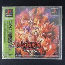 sealed ABALABURN PlayStation NTSC JAPAN・❀・BEAT EM UP FIGHTING TAKARA PS1 アバラバーン
