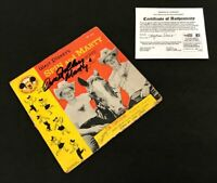 Walt Disney's Spin and Marty: The Triple R Song 45 With Sleeve (Signed by Tim ..