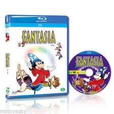 Disney's Classic - Fantasia - Blu Ray Disc - Region Free ABC (NEW) Mickey Mouse