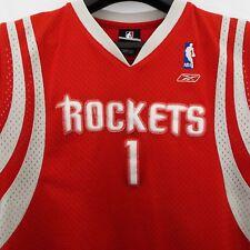 Houston Rockets Red Basketball Jersey #1 Mc Grady *Youth size Large 14-16*  EUC