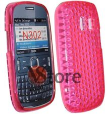 Cover Gel Silicone TPU Fuchsia For Nokia Asha 302 N302