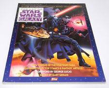 Art of Star Wars Galaxy Vol 1 Softcover Book NM Moebius Mignola KalutaTopps 1993